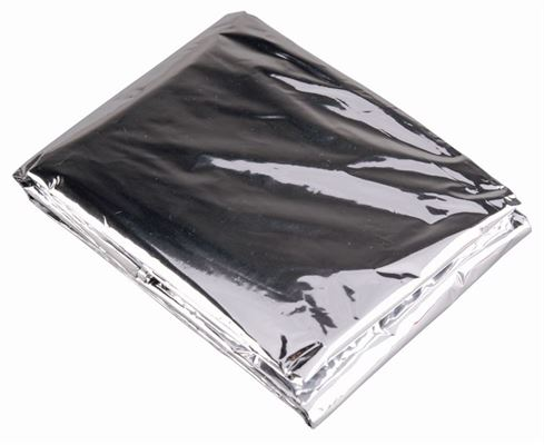 Emergency Blanket - silver color