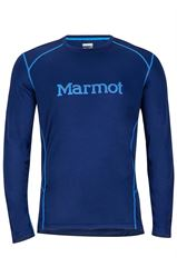 Marmot Men's Windridge with Graphic L/S שלדג מחנאות וספורט