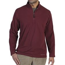 Exofficio Men's Meridius™ Fleece 1/4 Zip שלדג מחנאות וספורט
