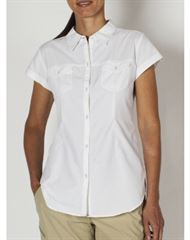 Exofficio Wm's Dryflylite Cap Sleeve Shirt שלדג מחנאות וספורט
